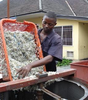 Appui aux filières de recyclage des déchets plastique (2008-2010). Kinshasa