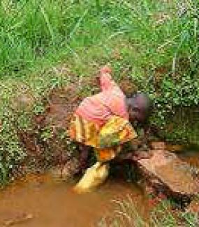 Adduction d'eau au Burundi, province de Bujumbura rural