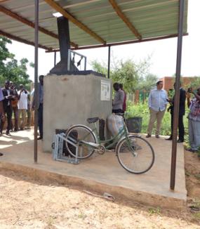Mise en place d'un atelier-école de tri / valorisation des déchets plastiques. Burkina Faso