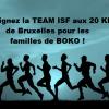 Rejoignez  la Team ISF aux 20 km de BXL