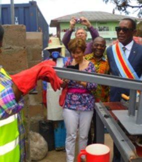 Créer une filiale de recyclage de sachets plastiques à Bandalungwa (2017-2020)