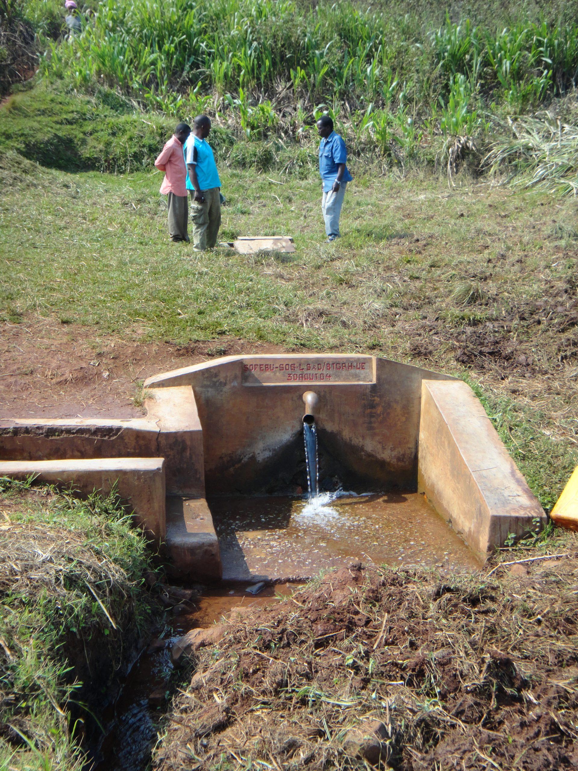 En recherche de financement : Assainir 6 sources à Mokamo – RDC